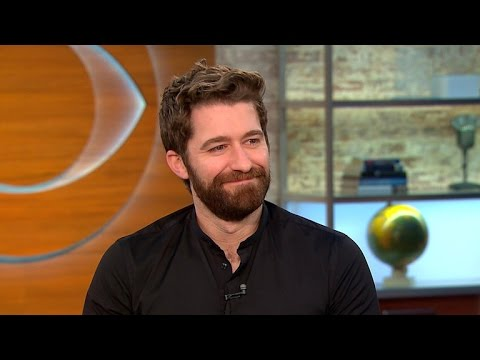 """Glee"" star Matthew Morrison is ""so happy"" to return to Broadway"