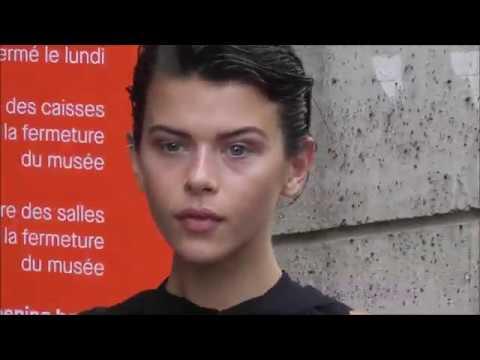 Georgia Fowler @ Paris 4 july 2018 Fashion Week show Elie Saab / juillet #PFW