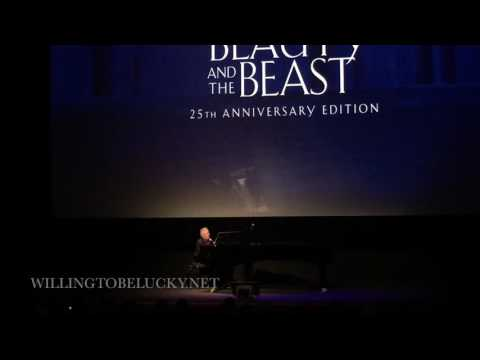 Alan Menken  Disney Medley Live at the 25th Anniversary Screening of Beauty and the Beast
