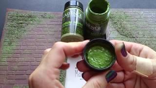 Видео-обзор краски для создания эффекта мха от Cadence