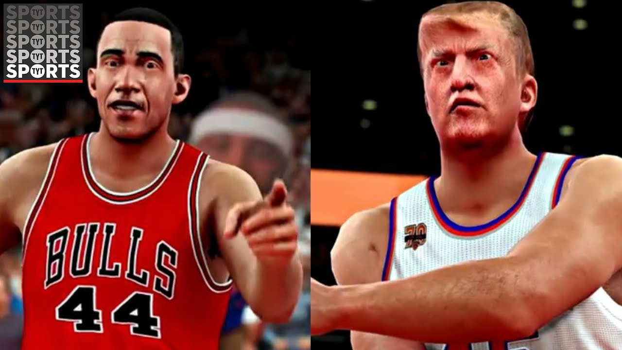the obama vs trump nba 2k battle is the best thing you ll see youtube