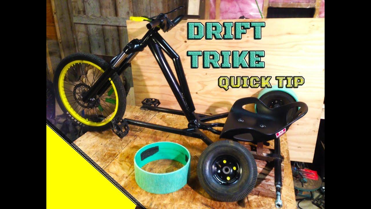 Drift Trike Quick Tip: PVC Sleeves