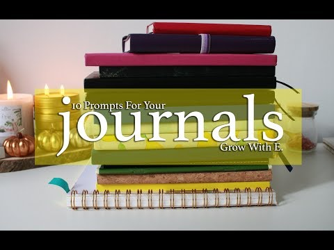 What To Write In A Journal | 10 Ideas
