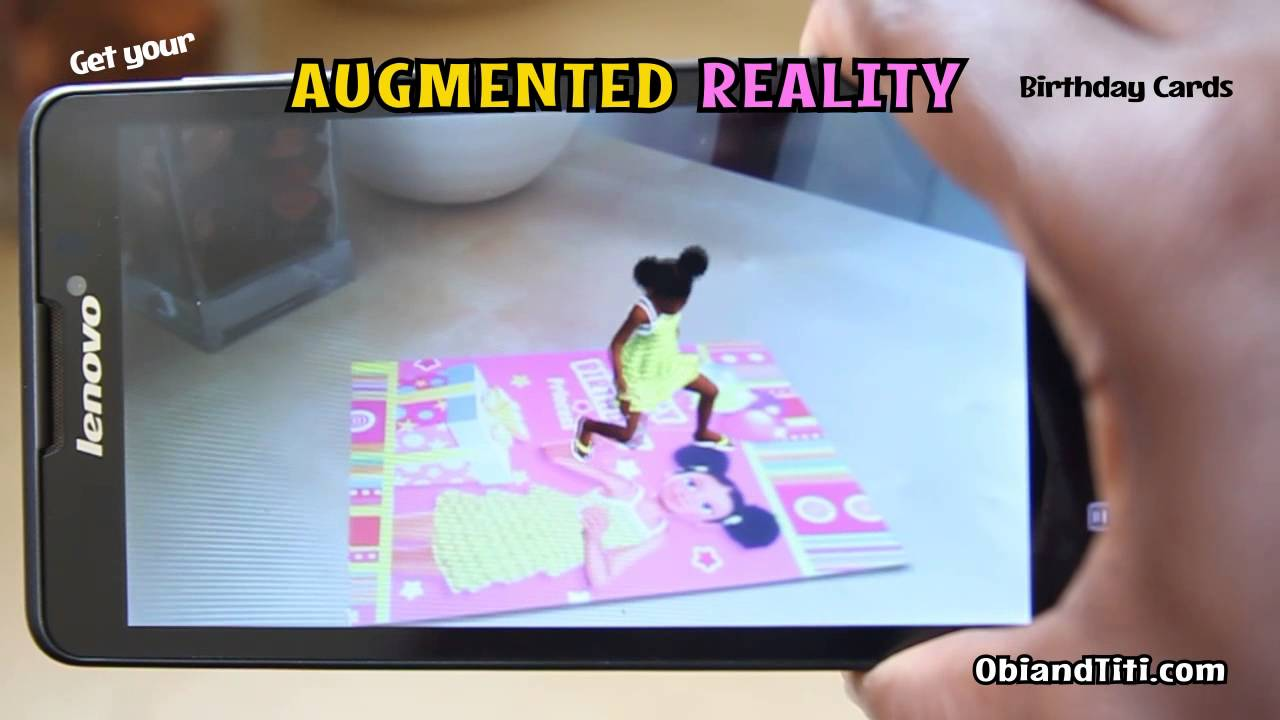 Obi and titi augmented reality birthday cards youtube m4hsunfo