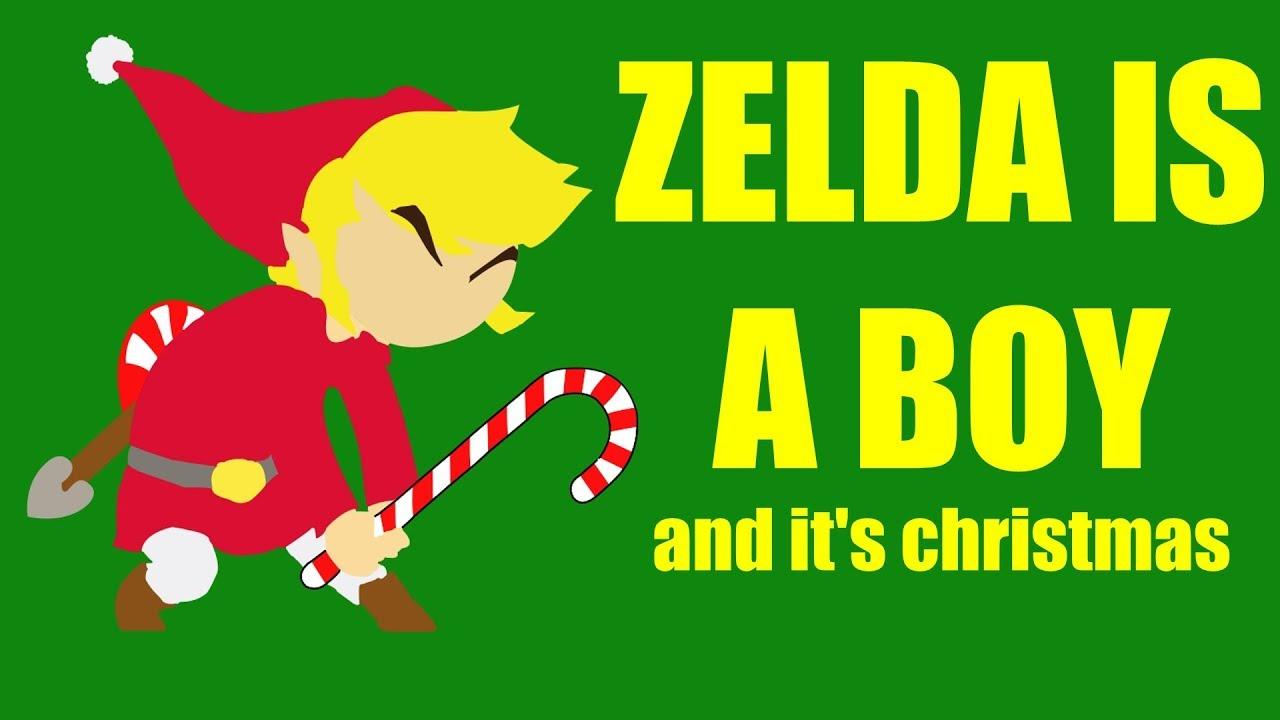Zelda is a boy and it\'s Christmas - YouTube