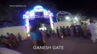Virtual Drive-Through Prasanthi Nilayam - Sathya Sai Baba Ashram || 90th Birthday Celebration