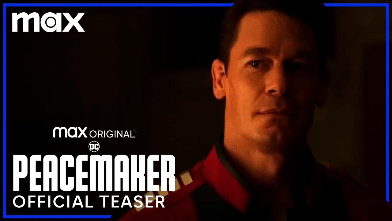 John Cena in Peacemaker teaser voor Streamz