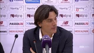 Vincenzo Montella ilk galibiyetini yorumladı |Adana Demirspor 3-1 Çaykur Rizespor