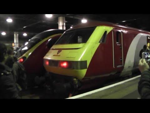 "Virgin Trains ""Pretendolino"" Last Ever Scheduled Service   Birmingham to London 24/10/14"