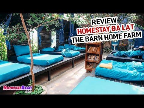 Review The Barn Home Farm Homestay Đà Lạt | Ngôi nhà kính độc đáo