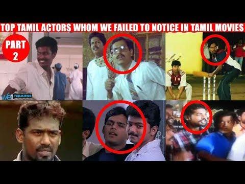 Top Tamil actors whom we failed to notice...
