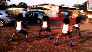 Flash Mob Ghana Dance Crew Doing their own Thing [Teaser]