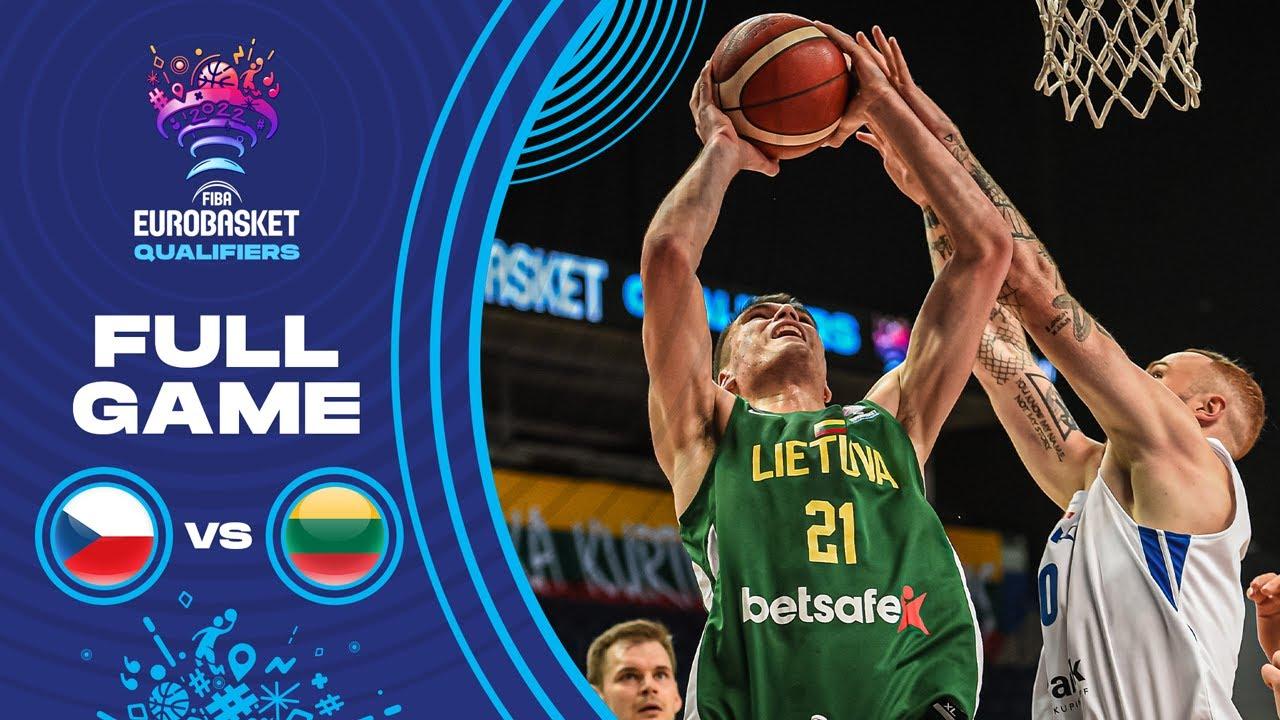 Czech Republic v Lithuania | Full Game