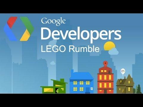 Google Developers SXSW LEGO Rumble