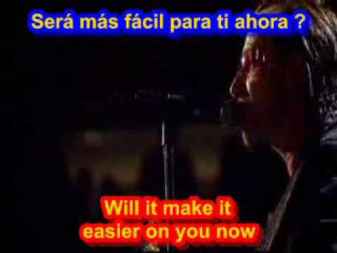 U2 One Subtitulado Español Ingles Youtube