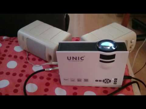 UNIC UC40+ projection in daylight
