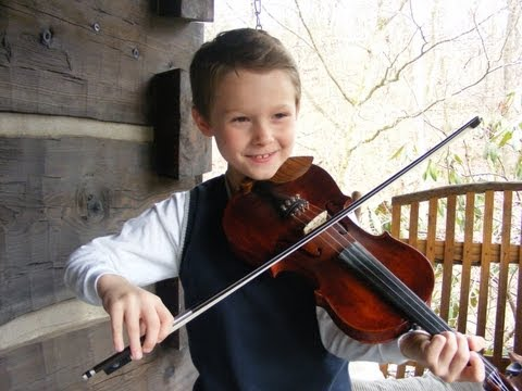 9-year-old fiddler hopes to go pro