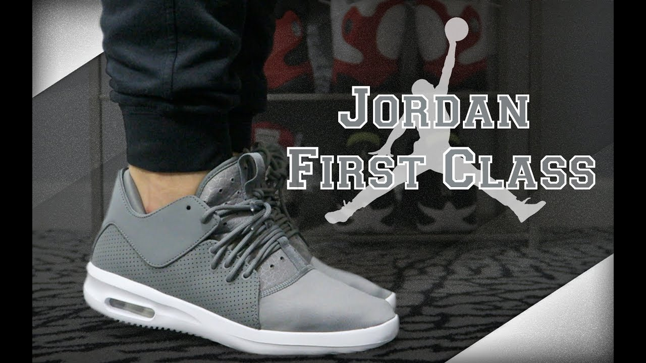 jordan air first class