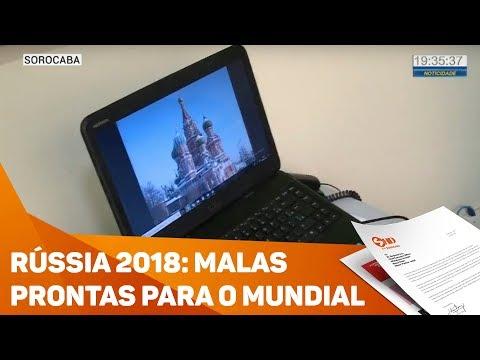 Rússia 2018: Malas prontas para o mundial - TV SOROCABA/SBT