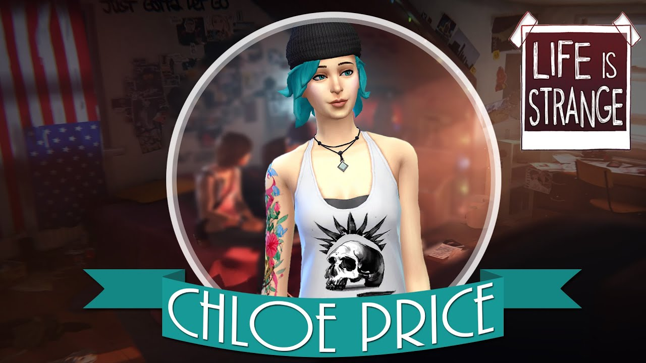 The Sims 4 Life Is Strange Chloe Price S Clothes Custom Content Download Youtube
