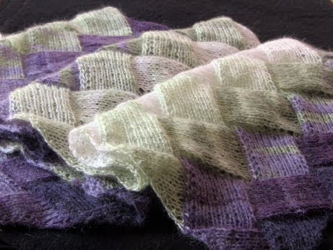 Learn to Knit Entrelac: Part One