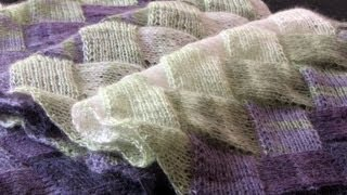 Repeat youtube video Learn to Knit Entrelac: Part One