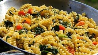 Quick Swiss Chard Pasta Recipe | ChrisDeLaRosa com
