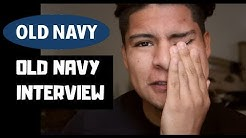 OLD NAVY JOB INTERVIEW *Experience