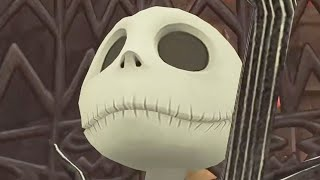 THE NIGHTMARE BEFORE CHRISTMAS | Kingdom Hearts | Video Game ᴴᴰ