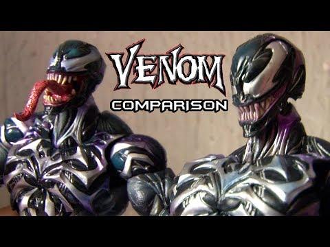 Venom Play Arts Kai - Authentic vs Bootleg...