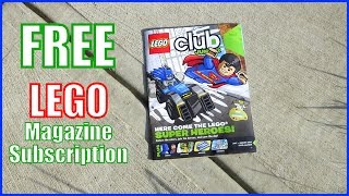 Free Lego Magazine Subscription - Comics Coloring & Activities