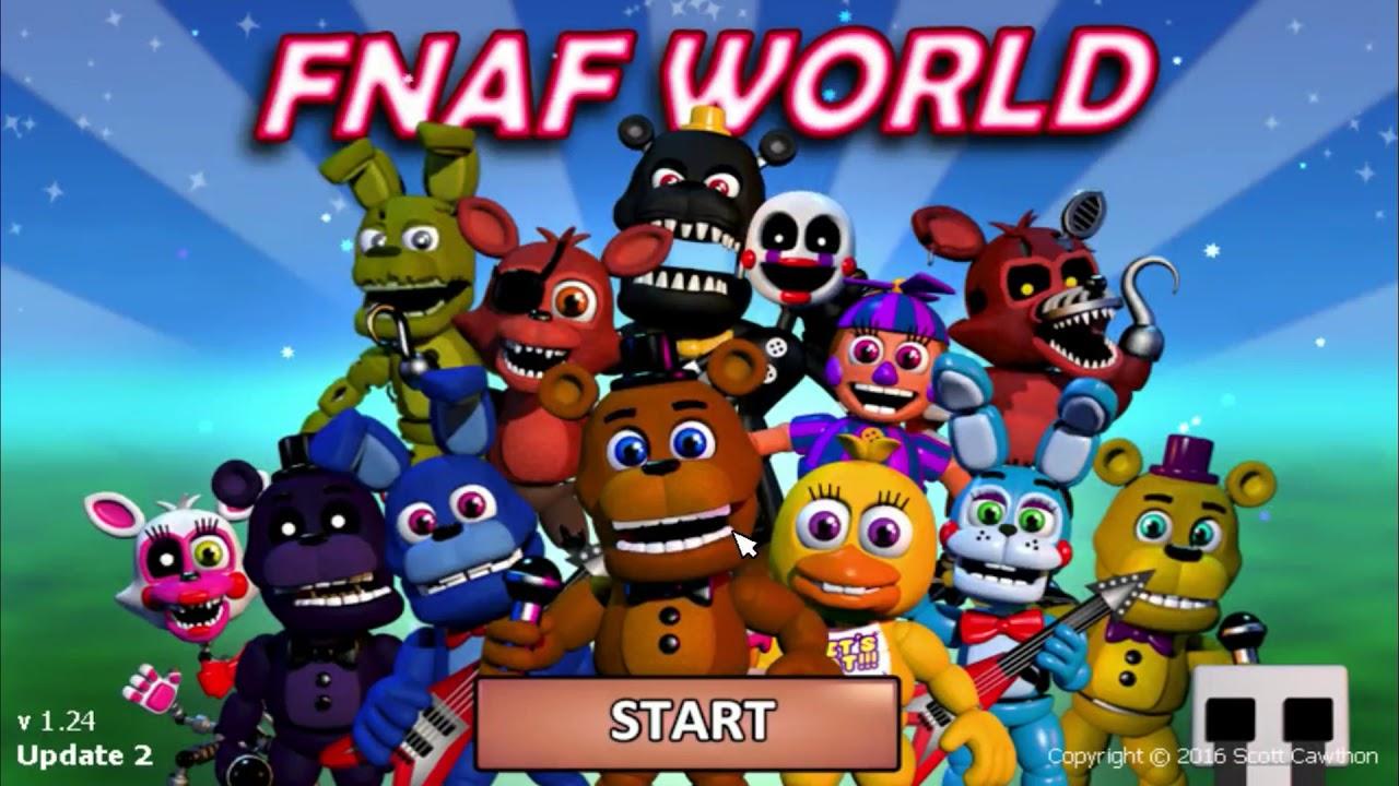 fnaf world game download full version