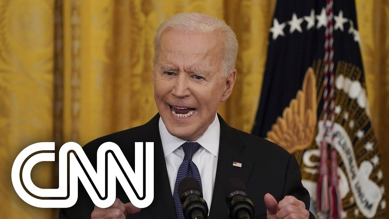 Joe Biden quer resposta final sobre as origens da Covid-19 | JORNAL DA CNN