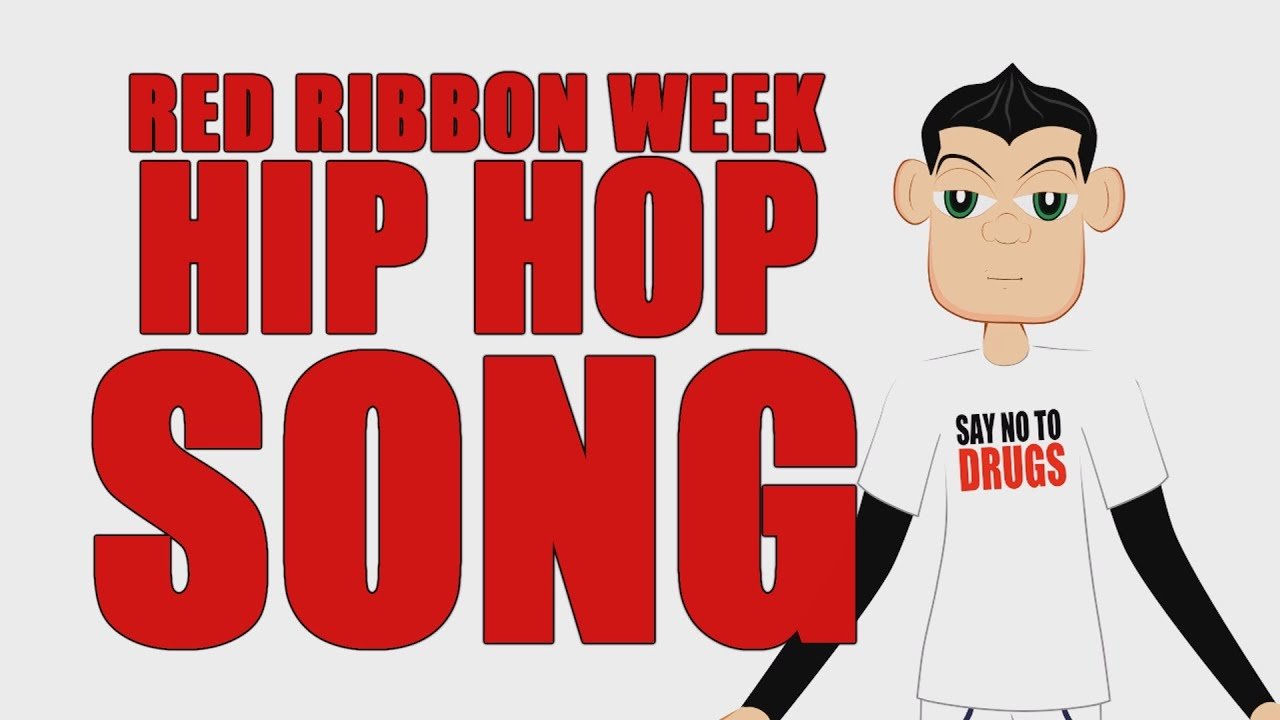 say no to drugs video for kids  red ribbon week cartoon