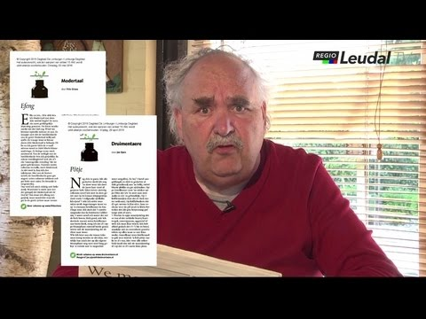 Spreekstoel Ton Donders De Limburger columns