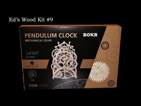 Pendulum Clock Kit Unboxing
