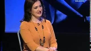 Rusalina Russu-o seara in familie cu Ion si Veaceslav Binzari