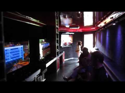 Have a Birthday Party in MegaTronix Gaming Truck! 28 can game at once!
