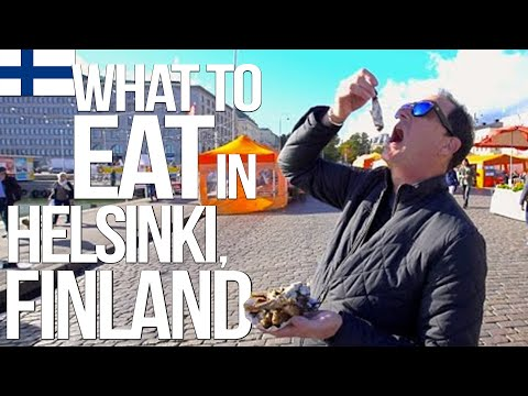 What to Eat in Helsinki, Finland   SAM THE COOKING GUY