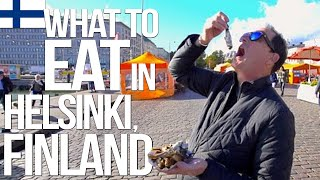 What to Eat in Helsinki, Finland | SAM THE COOKING GUY