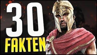 30 FAKTEN über Assassin's Creed ODYSSEY - die ihr kennen MÜSST // AC Odyssey Review bald
