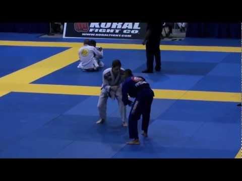 Pan2012 BJJ. Black Belt, Galo. Joseph Capizzi vs Rafael Barata Freitas