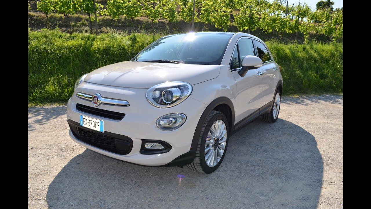 fiat 500x il test drive di youtube