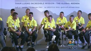 Thai Boys Soccer Team Freed From Cave Back In The Spotlight