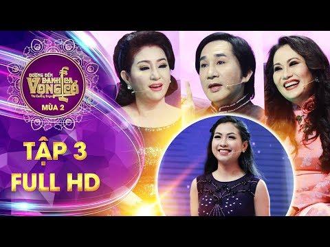 Đường đến danh ca vọng cổ 2  tập 3 full: HLV Kim Tử Long quyết chiêu mộ thí sinh vừa đẹp vừa hát hay thumbnail