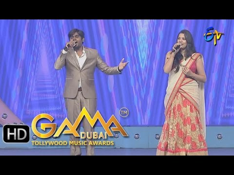 Darlingey Song - Deepu, Geetha Madhuri Performance in ETV GAMA Music Awards 2015 - 6th March 2016