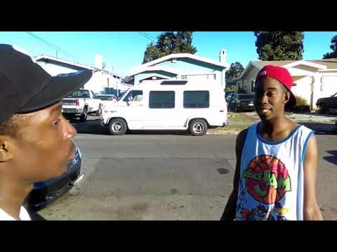 East Oakland meshay punked a nigga