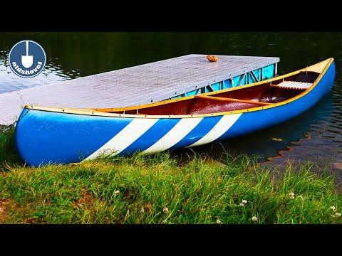 Fiberglass Canoe Repair | Canoe Restoration Segment 1