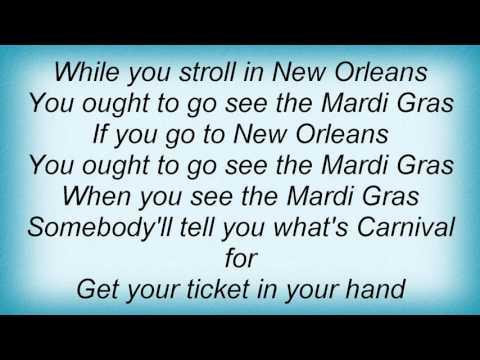 19217 Professor Longhair - Go To The Mardi Gras Lyrics