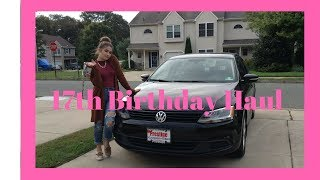 What I Received For My 17th Birthday// Camsglam